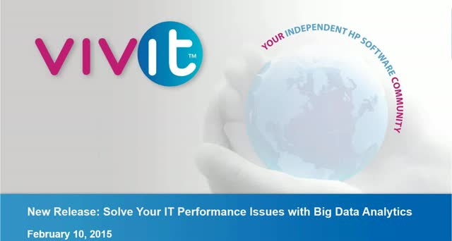 New Release: Solve Your IT Performance Issues with Big Data Analytics