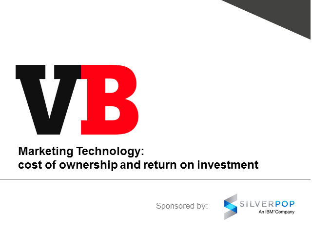 Marketing Technology: Cost of ownership and return on investment