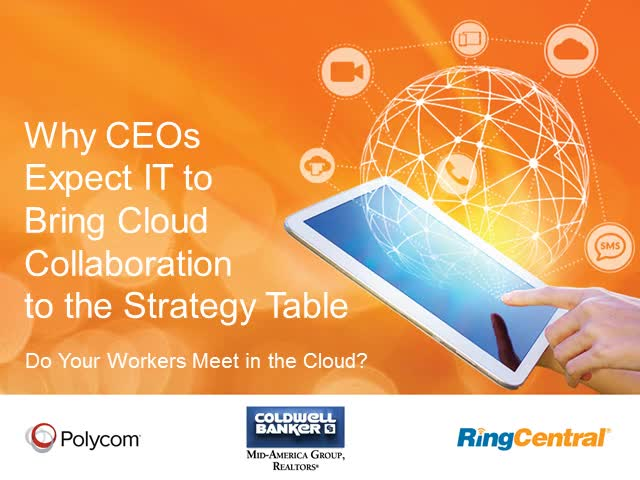 Why CEOs Expect IT to Bring Cloud Collaboration to the Strategy Table