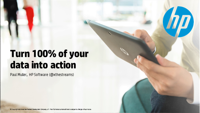 Turn 100% of your data into action