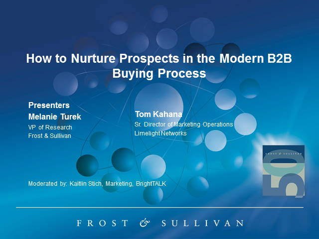 How to Nurture Prospects in the Modern B2B Buying Process