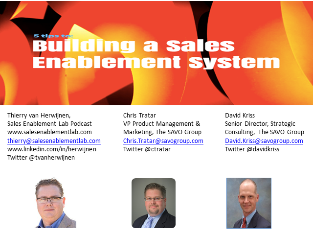 5 Tips to Building a Sales Enablement System