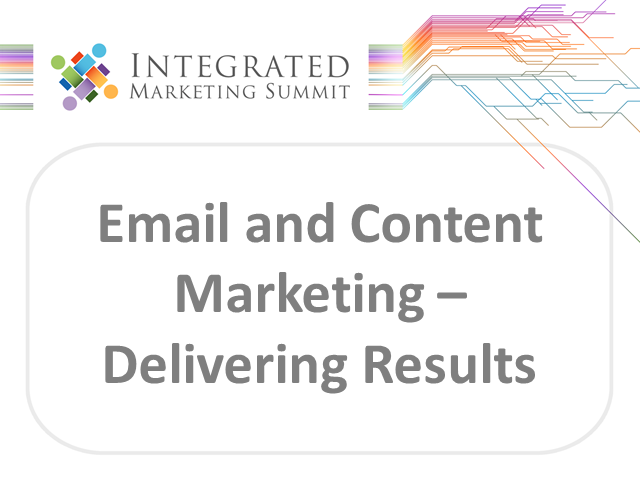 Email and Content Marketing – Delivering Results