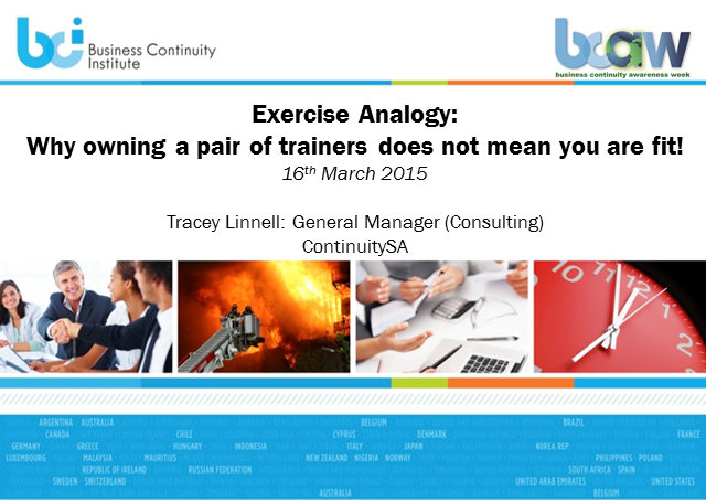 BCI webinar: Why owning a pair of trainers does not mean you are fit