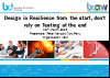 BCI webinar: Design in Resilience at the start, don't rely on Testing at the end