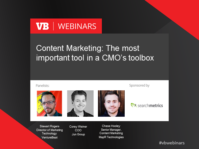 Content marketing: The most important tool in a CMO's toolbox