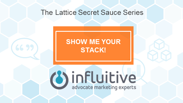 Show Me Your Stack! with Jim Williams VP of Marketing, Influitive