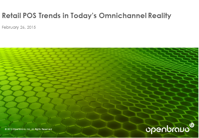Retail POS Trends in Today's Omnichannel Reality