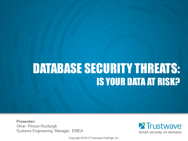 Database Security Threats: Risks to Your Data