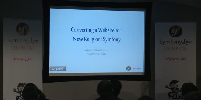 SymfonyLive London 2014 | Michael Cullum - Converting a Website to a New Religio
