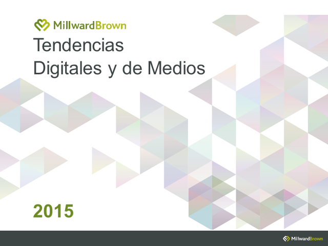 WEBINAR TENDENCIAS DE MEDIOS & DIGITAL 2015