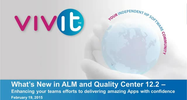 What's New in ALM and Quality Center 12.2