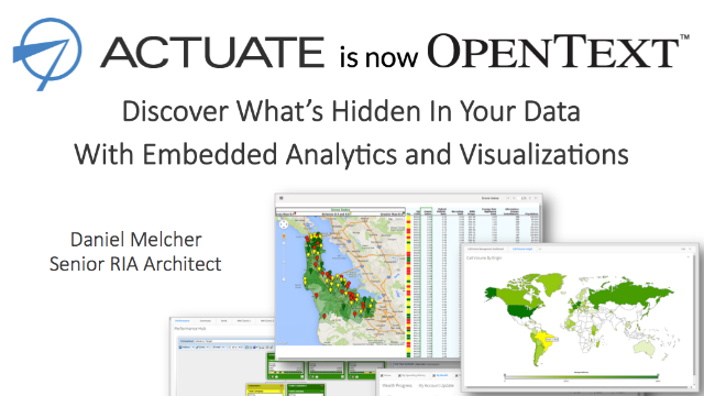 Discover What's Hidden In Your Data With Embedded Analytics and Visualizations
