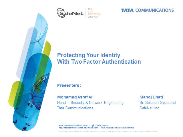 Protecting your identity with 2FA security!