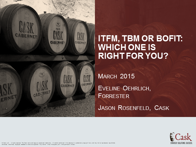 ITFM, TBM or BofIT: Which One is Right for You?