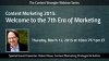 Content Marketing 2015  — Welcome To The 7th Era Of Marketing