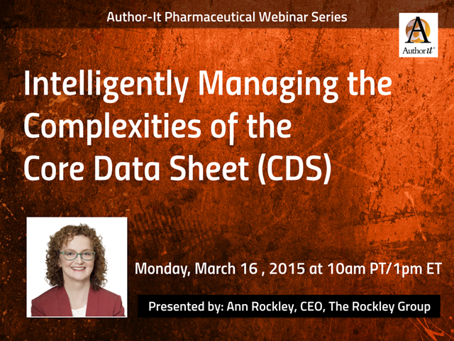 Intelligently Managing the Complexities of the Core Data Sheet (CDS)