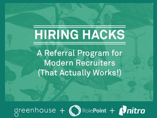 Hiring Hacks: A Referral Program for Modern Recruiters (That Actually Works!)