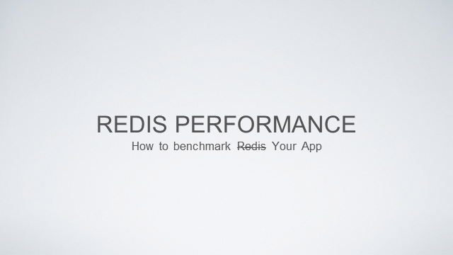 Practical Measurement of Redis