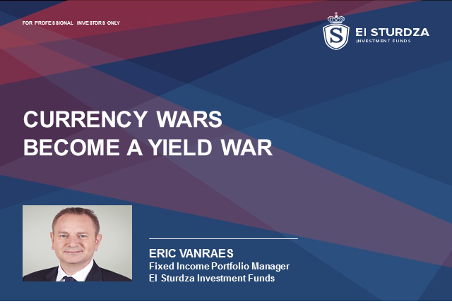 Currency wars become a yield war!