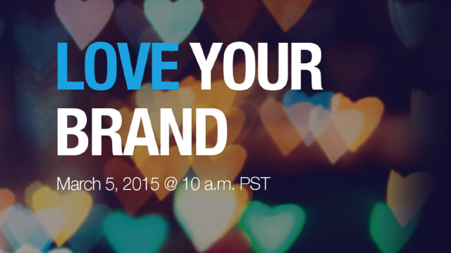 Virtual Event - Love Your Brand