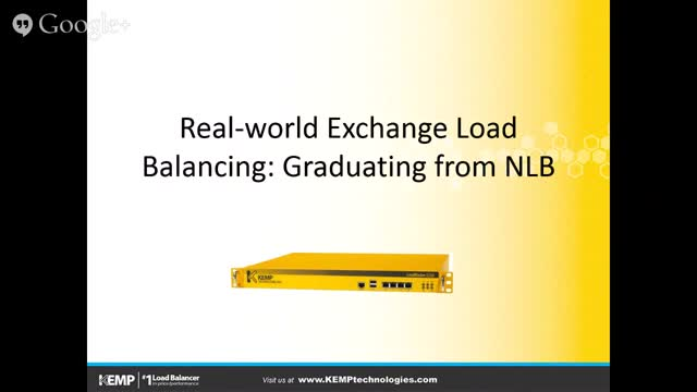 Real-world Exchange Load Balancing: Graduating from NLB