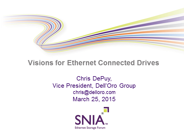 Visions For Ethernet Connected Drives