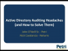 Active Directory Auditing Headaches (and How to Solve Them) | Sponsored by Netwr
