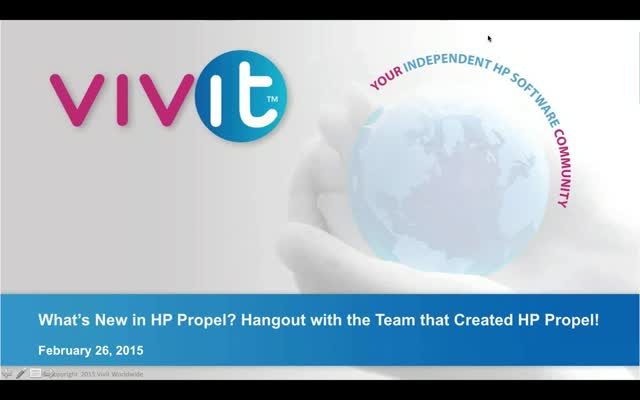 What's New in HP Propel? Hangout with the Team that Created HP Propel!