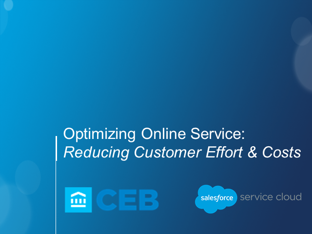 4 Self-Service Insights to Reduce Costs & Customer Effort