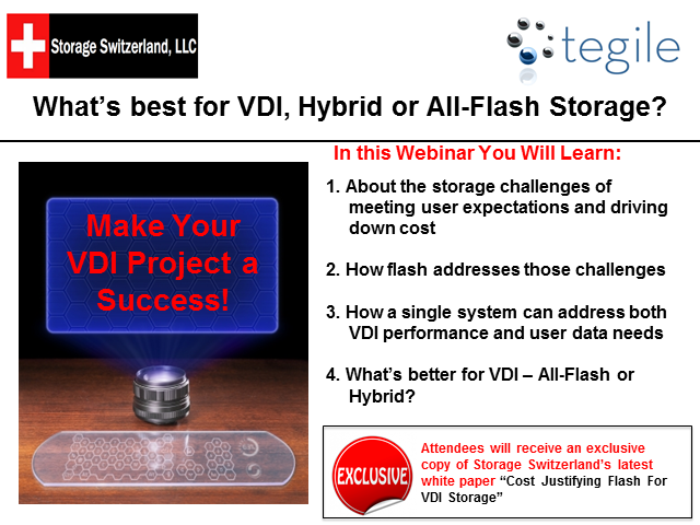 What's best for VDI Hybrid or All-Flash Storage