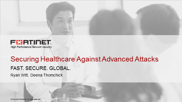 Protection Against the Three Vectors of a Healthcare Cyberattack