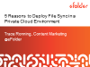 5 Reasons to Deploy File Sync in a Private Cloud Environment