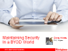 Maintaining Security in a Mobile World