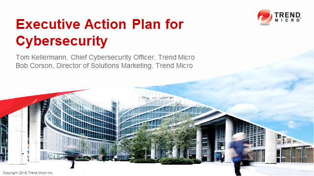 Executive Action Plan for Cyber Security