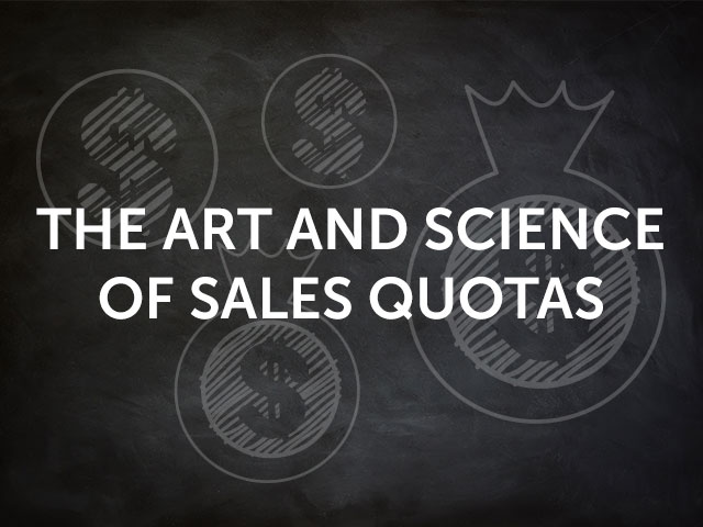 Art and Science of Sales Quotas