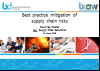 BCI webinar: Best practice mitigation of supply chain risks
