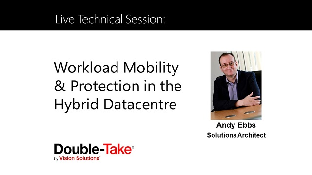 Live Technical Session :Workload Mobility & Protection in the Hybrid Datacenter