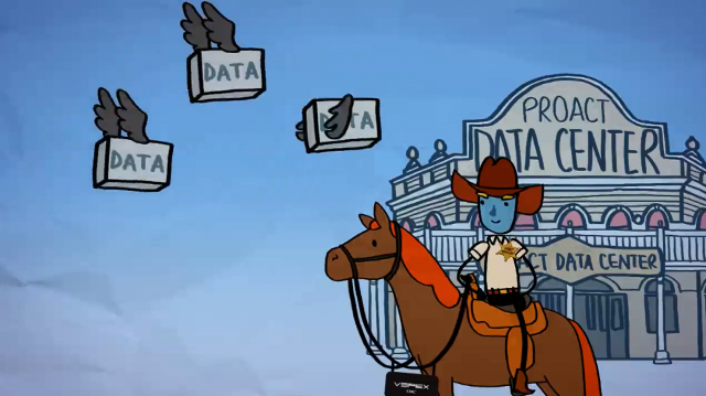 How to become sheriff of your own back-up? EMC Back-up as a Service by Proact