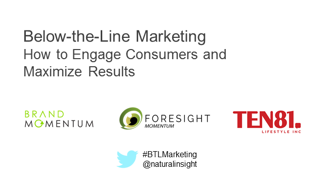 Below-the-Line Marketing: How to Engage Consumers and Maximize Results