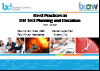 BCI webinar: Best practices for DR test planning and implementation