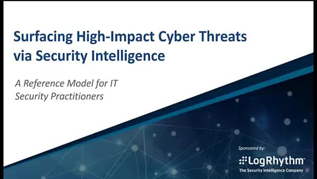 Surfacing Critical Cyber Threats Through Security Intelligence