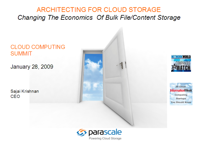 Cloud Storage - The Anatomy of a Cloud: Public and Private