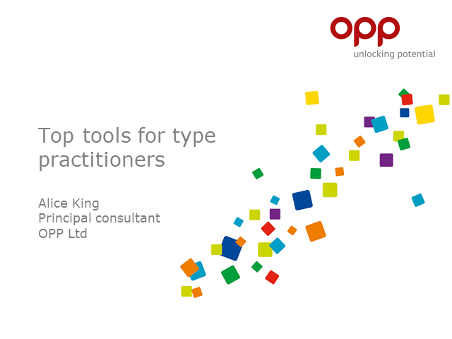Top tools for type facilitators