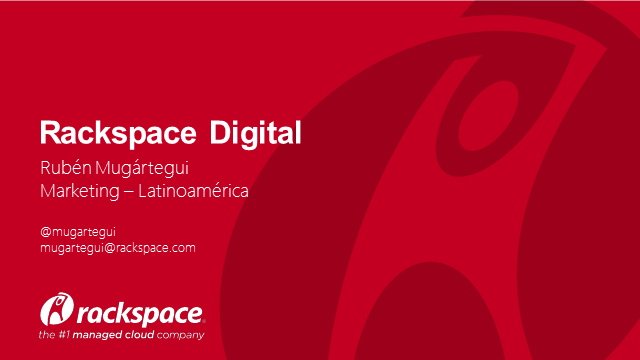 E-commerce y Web Content Management con Rackspace Digital
