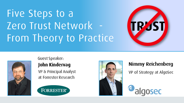 Five Steps to a Zero Trust Network  - From Theory to Practice