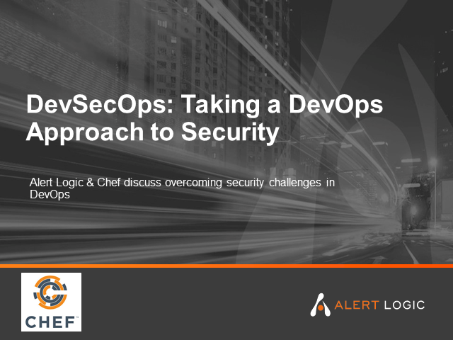 DevSecOps: Taking a DevOps Approach to Security