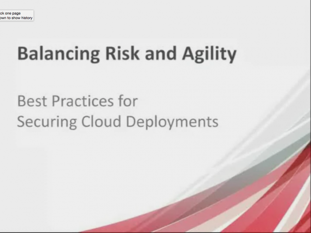 Forrester Research: Cloud Security Best Practices