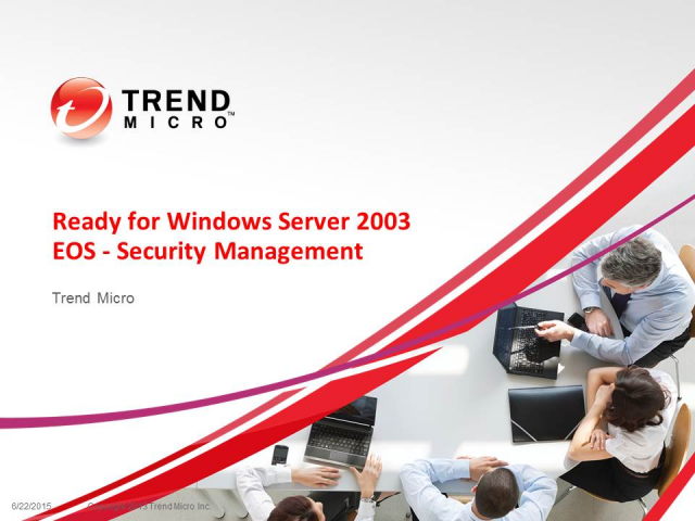 Ready for Windows Server 2003 EOS - Security Management in Modern Data Center