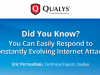 Did You Know? You Can Easily Respond to Constantly Evolving Internet Attacks.
